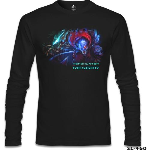 Lord T-Shirt League Of Legends - Rengar Siyah Erkek T-Shirt