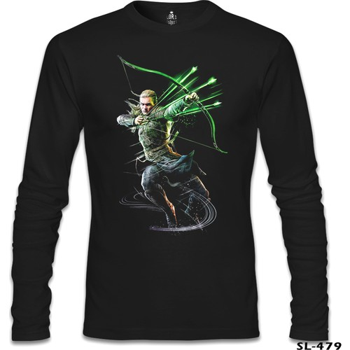 Lord T-Shirt Guardians Of Middle Earth - Legolas Siyah Erkek T-Shirt