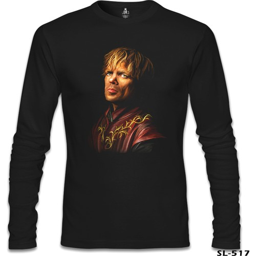 Lord T-Shirt Game Of Thrones - Lannister Tyrion Siyah Erkek T-Shirt