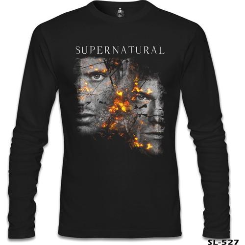 Lord T-Shirt Supernatural - Winchester Siyah Erkek T-Shirt