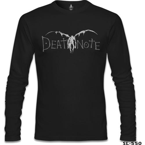 Lord T-Shirt Death Note - Logo Siyah Erkek T-Shirt