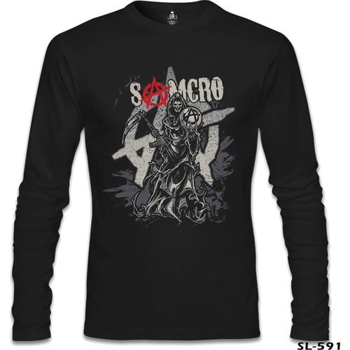 Lord T-Shirt Samcro Siyah Erkek T-Shirt