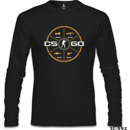 Lord T-Shirt Counter Strike - Go Siyah Erkek T-Shirt
