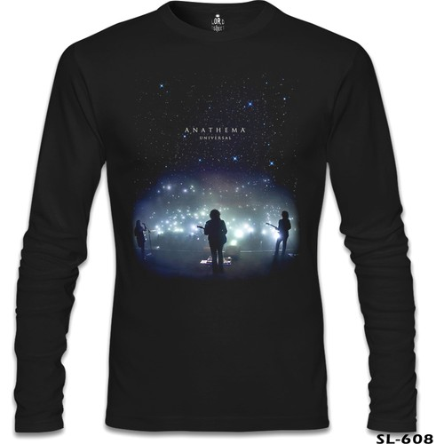 Lord T-Shirt Anathema - Universal Siyah Erkek T-Shirt