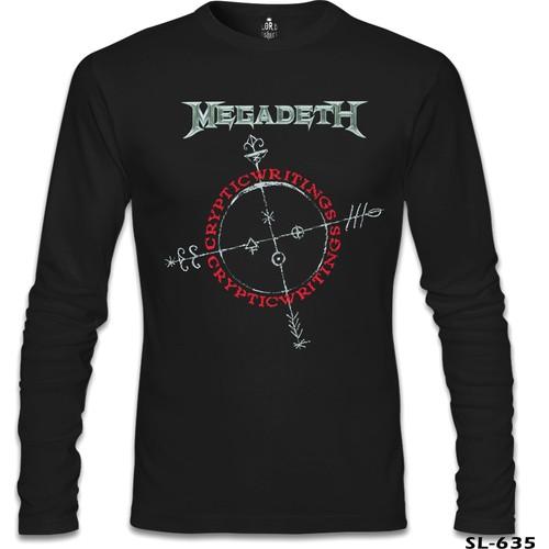 Lord Sweatshirt Megadeth - Cryptic Writings Siyah Erkek Sweatshirt