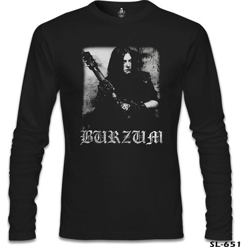 Lord T-Shirt Burzum - Anthology Siyah Erkek T-Shirt