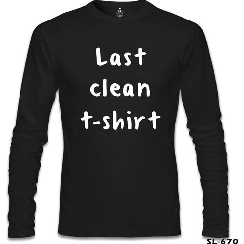 Lord T-Shirt Last Clean Tshirt Siyah Erkek T-Shirt
