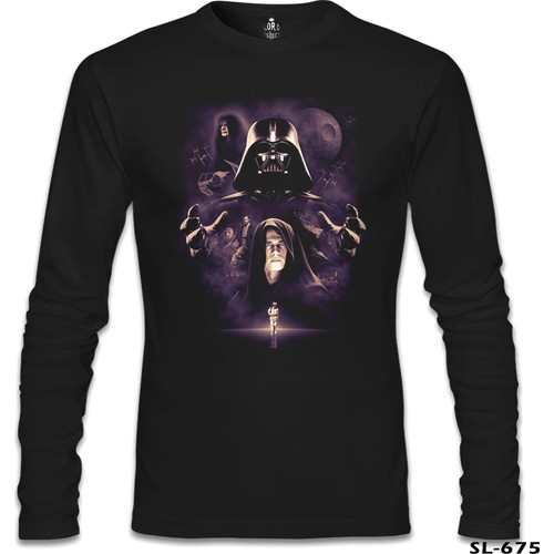 Lord Sweatshirt Star Wars - Darth Vader 2 Siyah Erkek Sweatshirt
