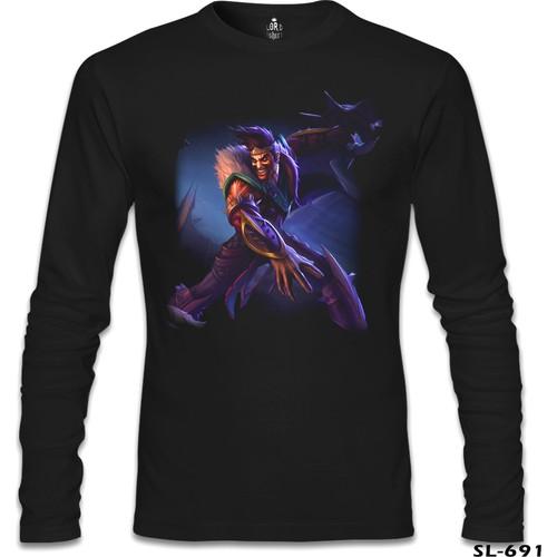 Lord T-Shirt League Of Legends - Draven 2 Siyah Erkek T-Shirt