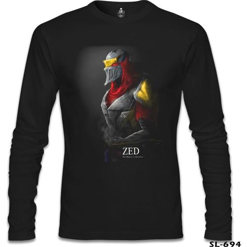 Lord T-Shirt League Of Legends - Zed Mask Siyah Erkek T-Shirt