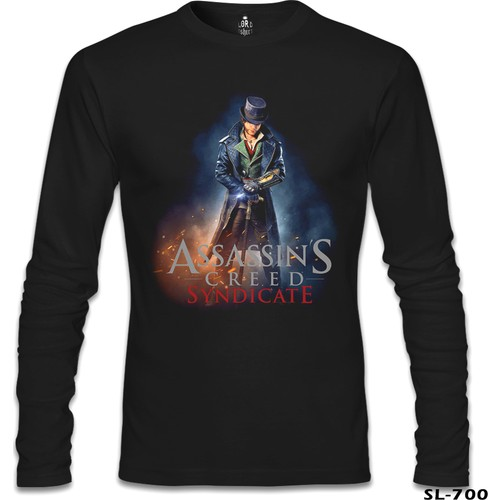 Lord T-Shirt Assassin's Creed - Syndicate Siyah Erkek T-Shirt