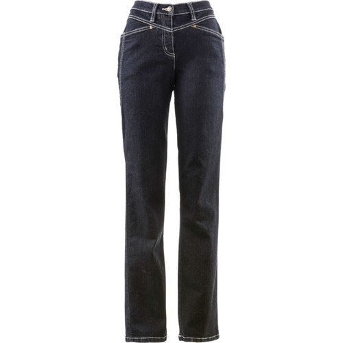 bonprix Konforlu Streç Pantolon Uzun Siyah