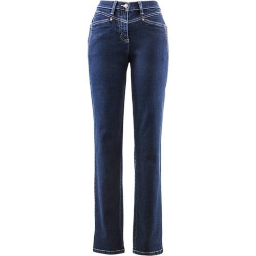 bonprix Konforlu Streç Pantolon Normal Mavi