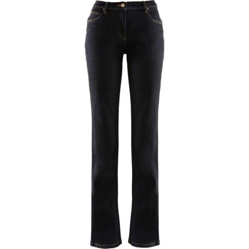 bonprix Streç Jean Straight Normal Siyah