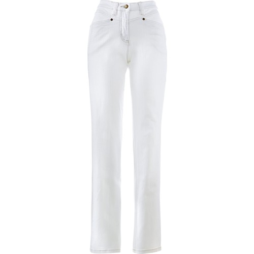 Bonprix Bpc Selection Konforlu Streç Pantolon Kısa Beyaz