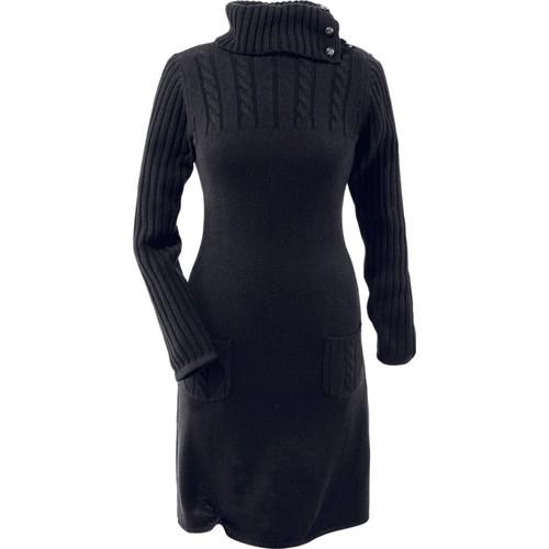 Bonprix Örgü Elbise Siyah