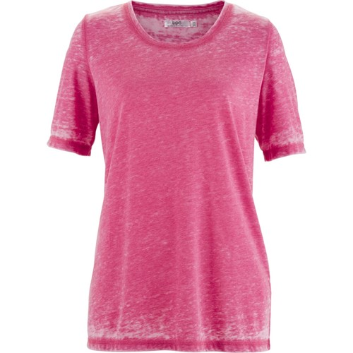 Bpc Bonprix Collection Lila T-Shirt 34-54 Beden