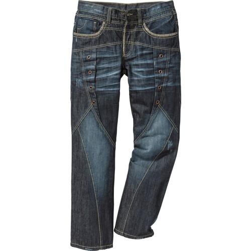 Bonprix Rainbow Mavi Regular Fit Straight Jean İnç Uzunluğu 34 34-54 Beden