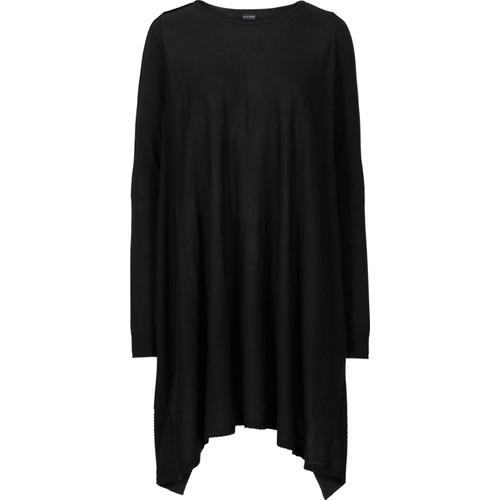 Bodyflirt Siyah Uzun Kazak 34-54 Beden