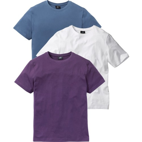 bonprix Tshirt (3'Lü Paket) Beyaz