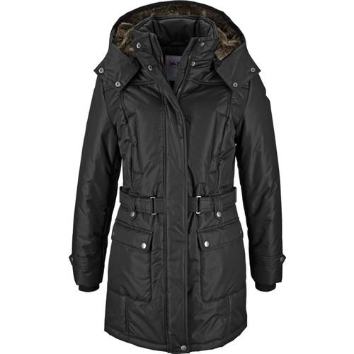 Bonprix John Baner Jeanswear Siyah Kışlık Mont 34-54 Beden