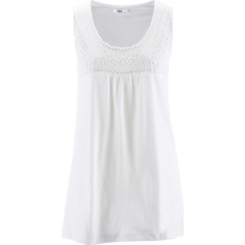 Bpc Bonprix Collection Beyaz Dantelli Bluz 34-54 Beden