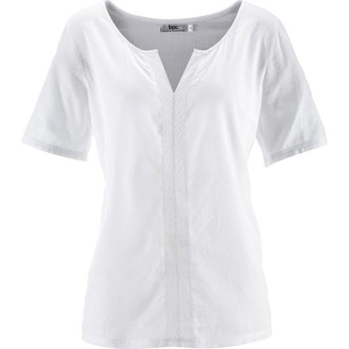 Bpc Bonprix Collection Yarım Kollu Bluz Beyaz