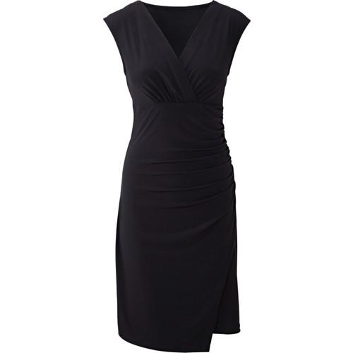 Bodyflirt Siyah Elbise 34-54 Beden