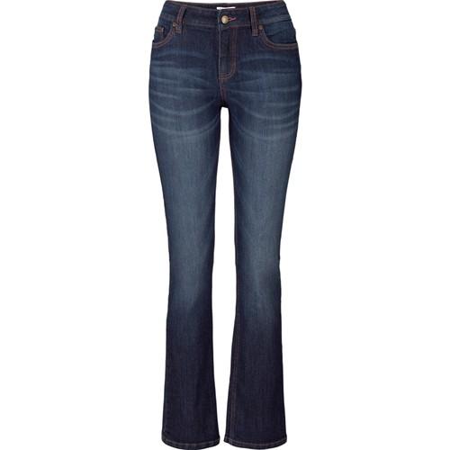 Bonprix John Baner Jeanswear Streç Jean Bootcut Kısa