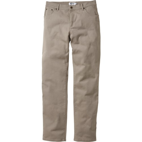 Bonprix John Baner Jeanswear Bej Streç Pantolon Classic Fit Straight N-Beden 34-54 Beden