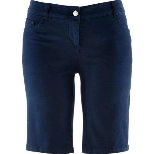 Bpc Bonprix Collection Streç Bermuda Mavi