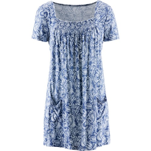 Bpc Bonprix Collection 1/2 Kollu Penye Tunik Mavi