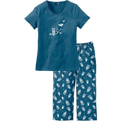 Bpc Bonprix Collection Petrol Kapri Pijama 34-54 Beden
