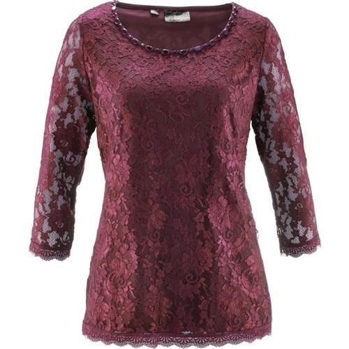 Bpc Selection Premium Kırmızı Dantelli Bluz