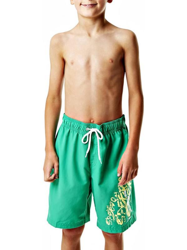 Speedo 8-078589367 Yeşil Erkek Çocuk Şort - Mayo