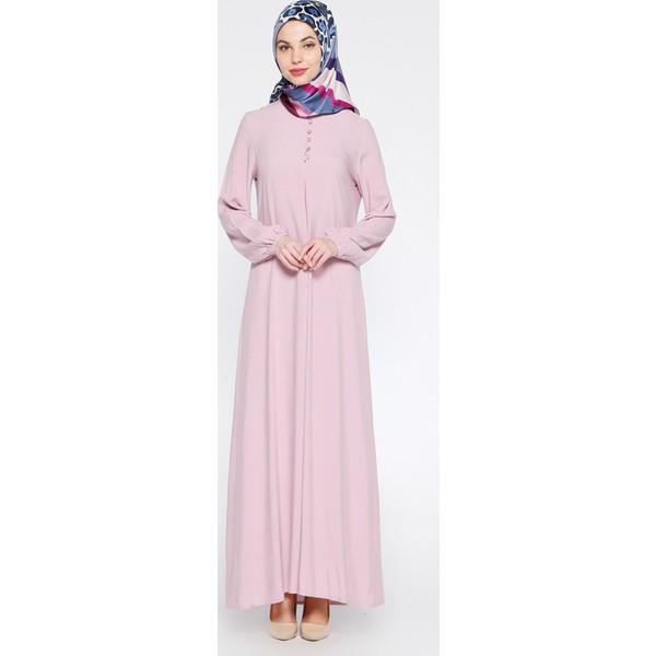 6b3e703d3c734 Birit Detaylı Elbise - Lila - Ginezza - 52 - Mor Fiyatları ...