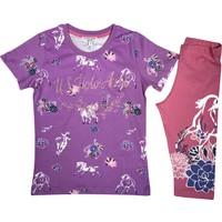 U.S. Polo Assn. Kız Çocuk T-Shirt Takım - US2790