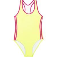 Bombi Kız Çocuk Yüzücü Mayo Neon Sarı 194102