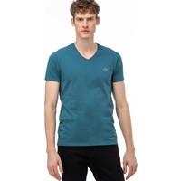 Lacoste Erkek V Yaka Yeşil T-Shirt TH0999.5CN