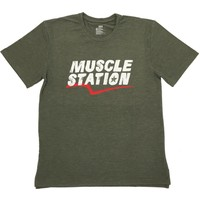 Musclestation Toughman Workout Fitness Erkek Tshirt M