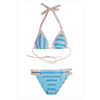 Ayyıldız Kız Çocuk Bikini Takımı 2404 Mavi