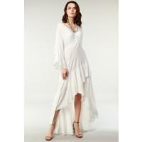Nilmark Kadın Beyaz Elbise