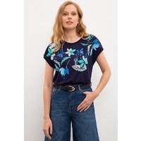 U.S. Polo Assn. Kadın T-Shirt 50217723-VR033