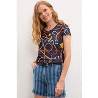 U.S. Polo Assn. Kadın T-Shirt 50220121-VR033