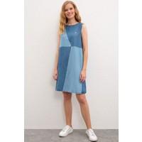 U.S. Polo Assn. Kadın Denim Elbise