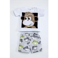 Luggi Erkek Bebek Şort Takım Lg-5097