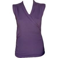 Fit and Size Kadın Organik Kolsuz Yoga T-Shirt