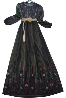 Rose Moda Günlük Uzun Elbise