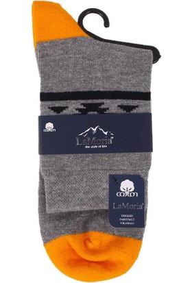 La Moria Dikişsiz Çorap 31416   Sarı