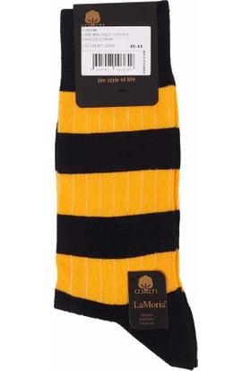 La Moria Dikişsiz Çorap 31623   Sarı